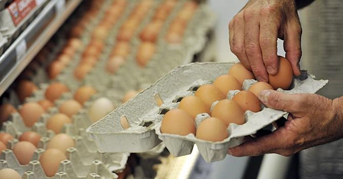 Los expertos recomiendan no consumir alimentos crudos o escasamente cocinados, especialmente huevos. Lo aconsejable es cocinar los alimentos por completo y conservarlos refrigerados hasta su consumo.EFE/EPA/CRAIG LASSIG