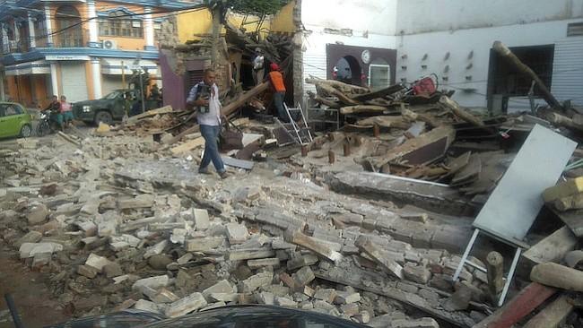 Muerte y desolación por terremoto en México