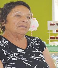 Doña Yolanda, durante la entrevista. Foto: Horacio Rentería/El Latino San Diego.