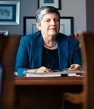 La ex secretaria del Departamento de Seguridad Nacional (Homeland Security) y ahora investida como la presidenta del Sistema de Universidades de California. Foto-Cortesía: ucop-edu
