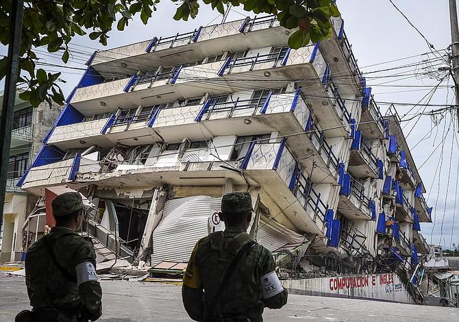 Al menos 58 muertos  deja mayor terremoto en México desde 1932