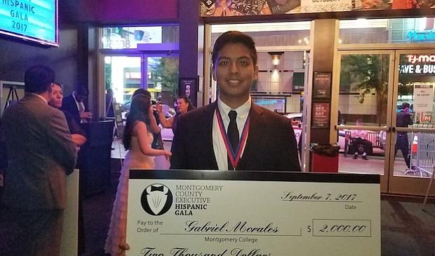 Gabriel Morales quiere estudiar Negocios y tener su propia compañía.