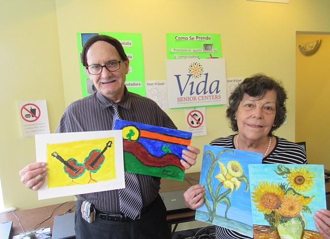 Abuelitos en DC toman vida a través del arte