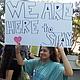 """Jocelin Reyes, de 19 años, dijo que estar protegida de la deportación redujo sus temores y ansiedades. Pero ahora, la estudiante de la Universidad de California-Santa Bárbara aseguró que """"su miedo se ha triplicado""""."""