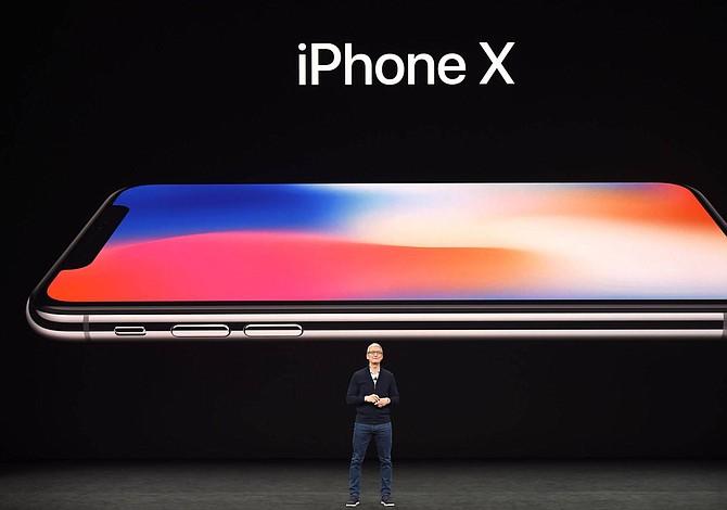 Llegó  iPhone X, sin marcos en la pantalla ni botón de inicio