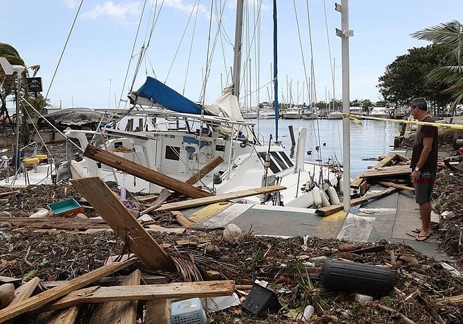 Irma destruyó 25% de los edificios de los Cayos de Florida