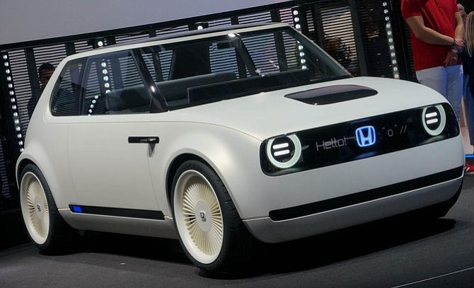 Honda Urban EV Concept: un pequeño eléctrico que te saluda al pasar