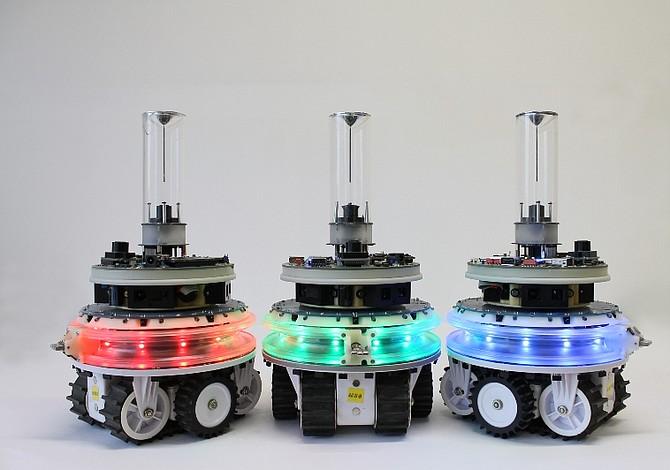 Crean robots capaces de unirse, dividirse y repararse a sí mismos