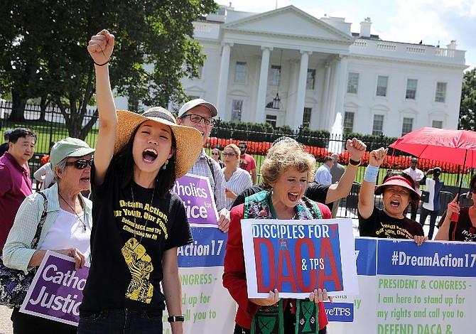 """Gobierno de EEUU reitera que la deportación de """"soñadores"""" no es su prioridad"""