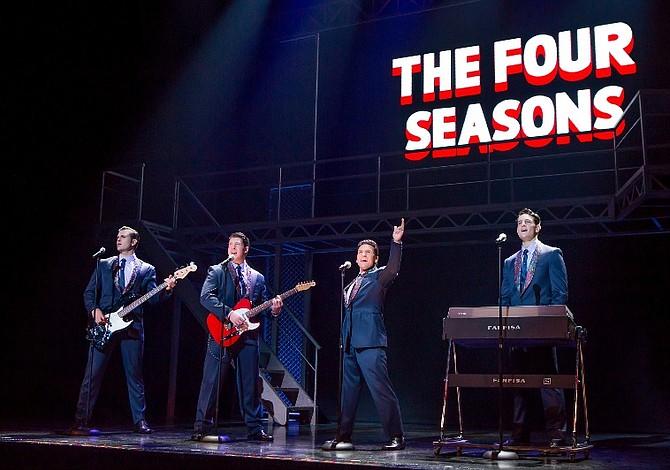 Jersey Boys en el NJ State Theatre