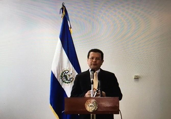 Canciller de El Salvador se muestra optimista sobre el TPS