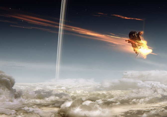 La sonda Cassini se despidió convertida en un fulgurante meteorito
