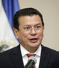 CANCILLER. Hugo Martínez realizó un balance de las gestiones que hizo en Washington, DC.