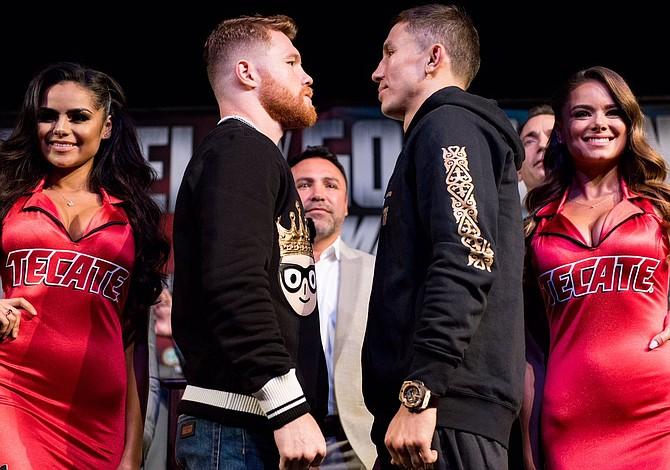 Enfrentamiento entre Canelo Álvarez y Golovkin paralizará Las Vegas
