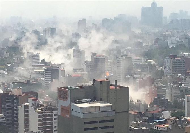Fuerte terremoto sacude México: impresionantes videos