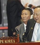 El canciller norcoreano, Ri Yong-ho