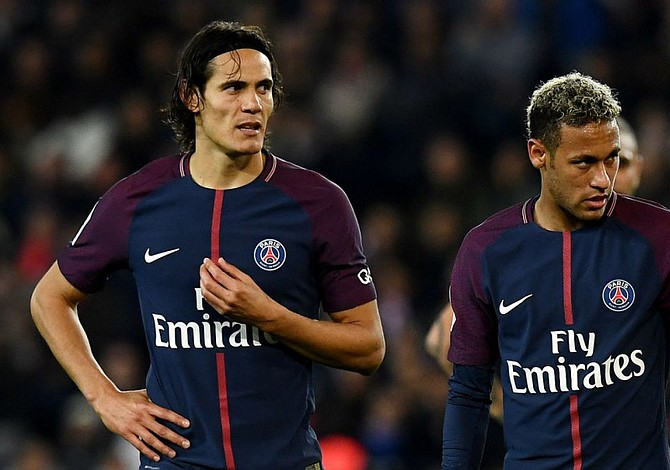 Neymar y Cavani casi se van a los puños en el vestuario del PSG
