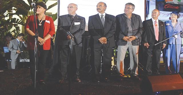 Ganadores del Premio Othli en San Diego, desde que el mismo fue instituido. Foto: Horacio Rentería/El Latino San Diego.