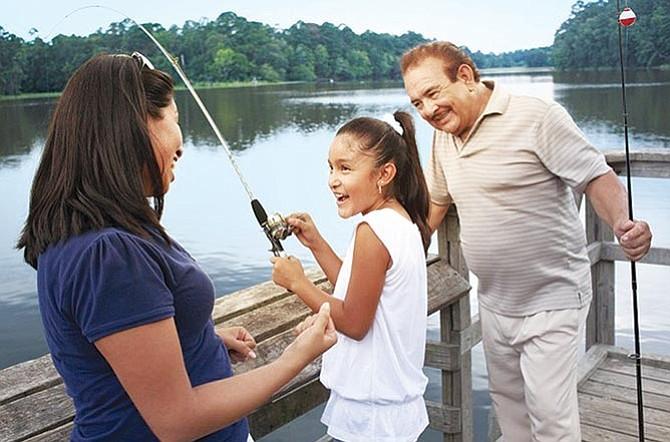 Aprendiendo a pescar