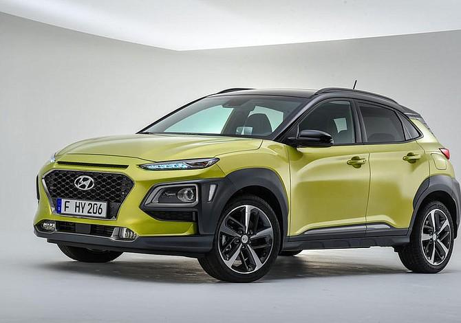 Hyundai hizo oficial la presentación del nuevo Kona