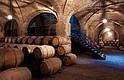 Las bodegas del viñedo chileno Santa Carolina, que fueron dañadas por el terremoto de 2010.