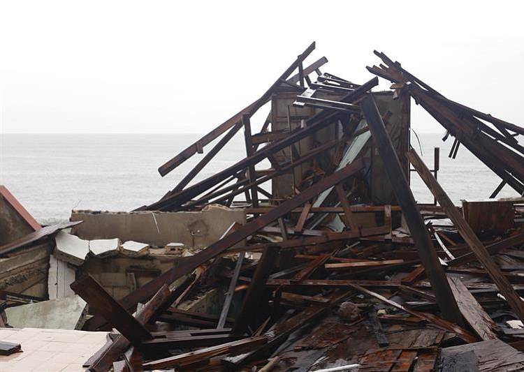 [VIDEO] Dramáticas imágenes de los destrozos del huracán María