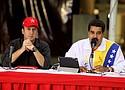 El presidente y vicepresidente de Venezuela, Nicolás Madurro y Tareck El Aissami, han sido acusados por Estados Unidos de participar en el tráfico de drogas