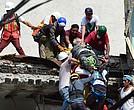 Siguen las labores de rescate en México por el terremoto