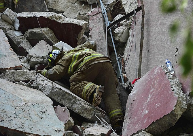 Centro mexicano desarrollará sensores para detectar gente atrapada en ruinas