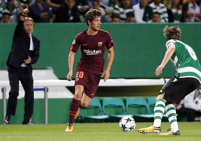Barcelona logró un triunfo sufrido en Lisboa