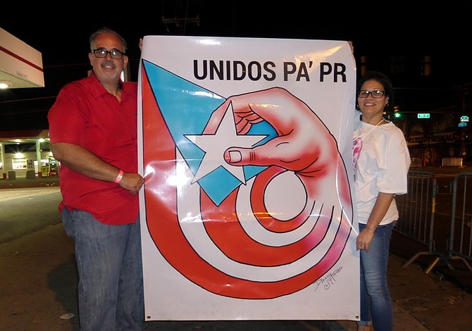 Boricuas en Filadelfia se unen para ayudar a Puerto Rico