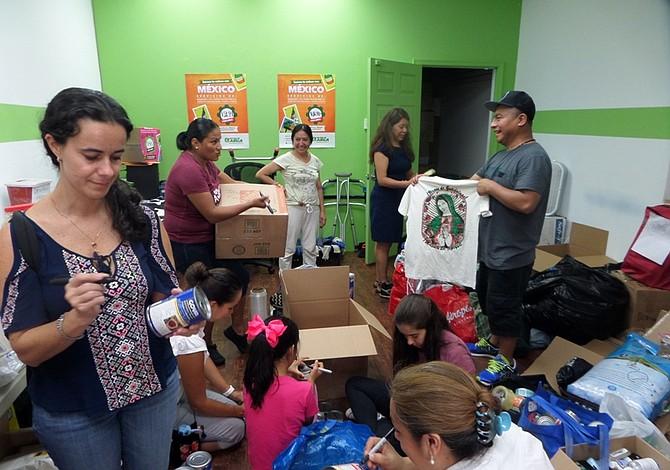 Filadelfia sigue activada en la ayuda a Puerto Rico y México