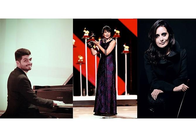 Tres latinoamericanos se unen para el estreno mundial de una obra musical en Boston