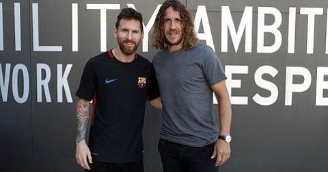 Messi se convertirá este domingo en el tercer jugador con más partidos disputados con el Barcelona FC