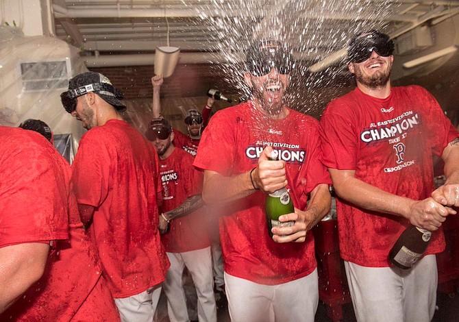 Medias Rojas de Boston se tituló campeón de la división este de la Americana