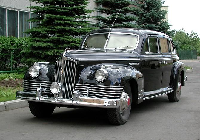 Las limusinas ZIS, el auto favorito de Stalin