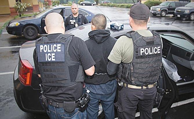 Casi quinientos inmigrantes arrestados en operativo nacional