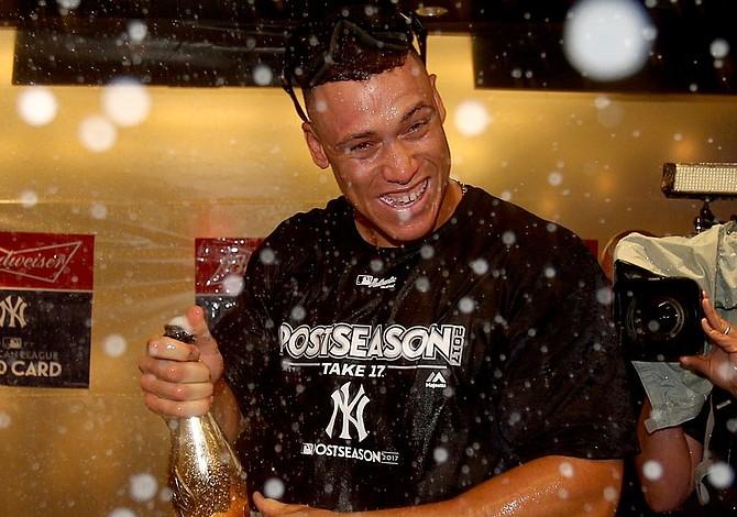 Los Yankees lograron el último cupo a la post temporada tras vencer a Minnesota 8-4