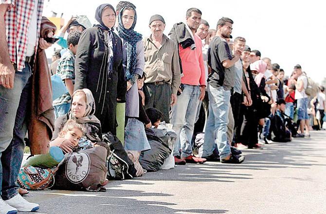 Límite en el número  de refugiados que llegan