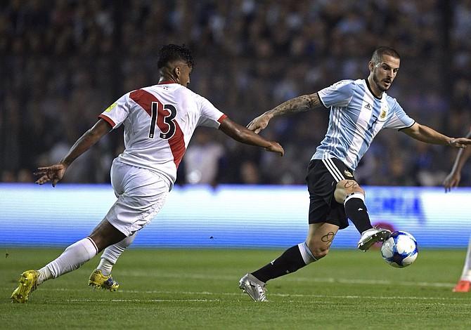 Argentina empató con Perú y esta al borde de quedar fuera del Mundial de Rusia 2018