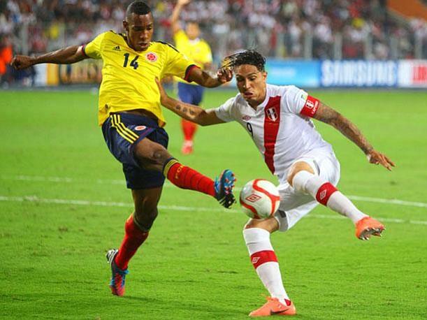 Colombia y Perú disputarán duelo de vida o muerte de cara al Mundial de Rusia 2018