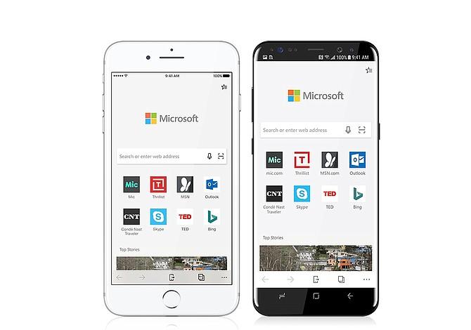 Microsoft lanza Edge para iOS y Android