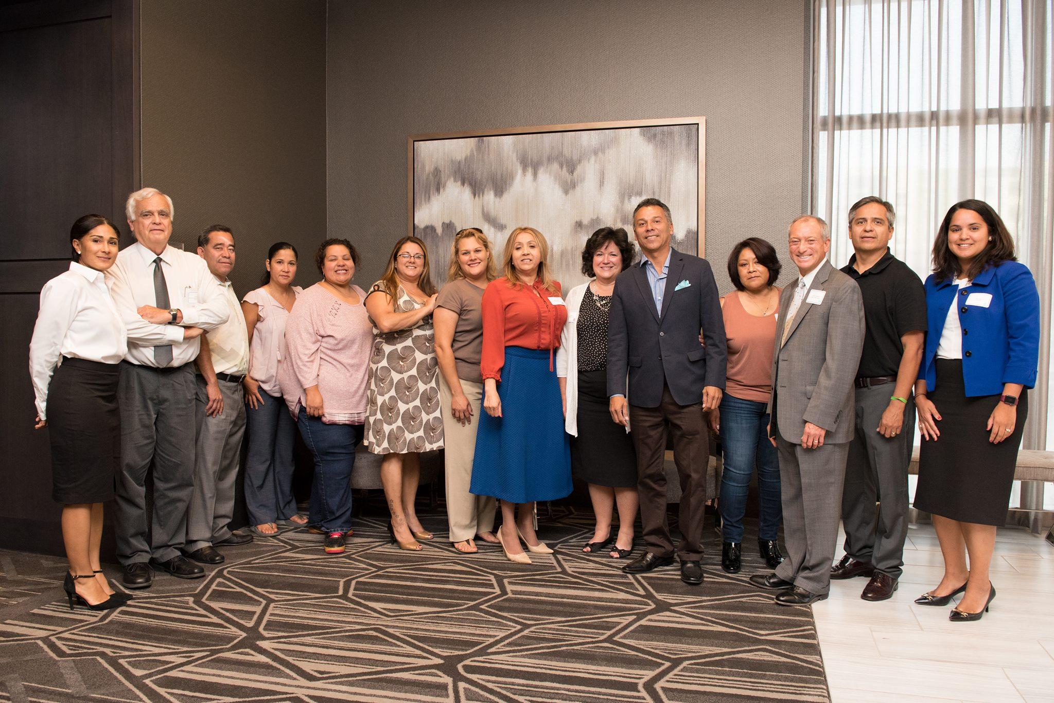 Líderes de Chelsea en la primera reunión del Latino Economic Advancement Advisory Council   FOTO: MCU