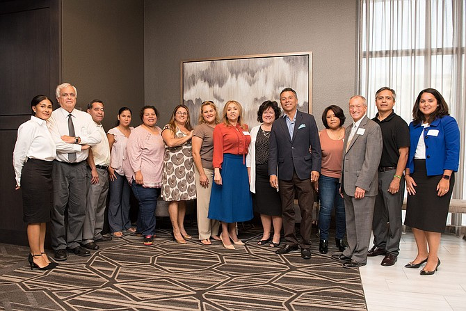 Líderes de Chelsea en la primera reunión del Latino Economic Advancement Advisory Council | FOTO: MCU