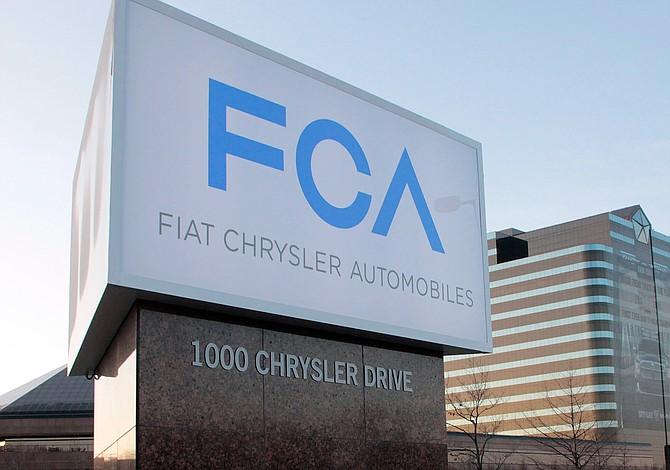 Ventas del grupo Fiat Chrysler cayeron 10%