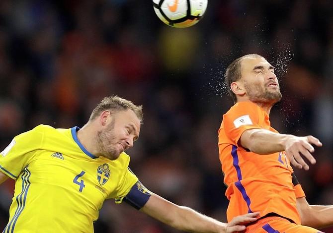 Holanda quedó fuera del Mundial de Fútbol Rusia 2018