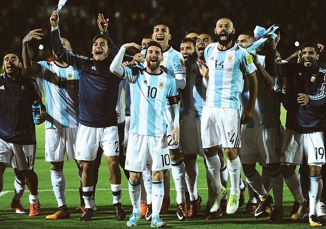 Messi sacó la cara con 3 goles y Argentina clasificó al Mundial de Rusia 2018