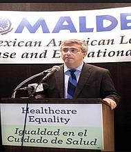 Tomas Sáenz, presidente de MALDEF. Foto-Cortesía: Radio Bilingüe/google.es