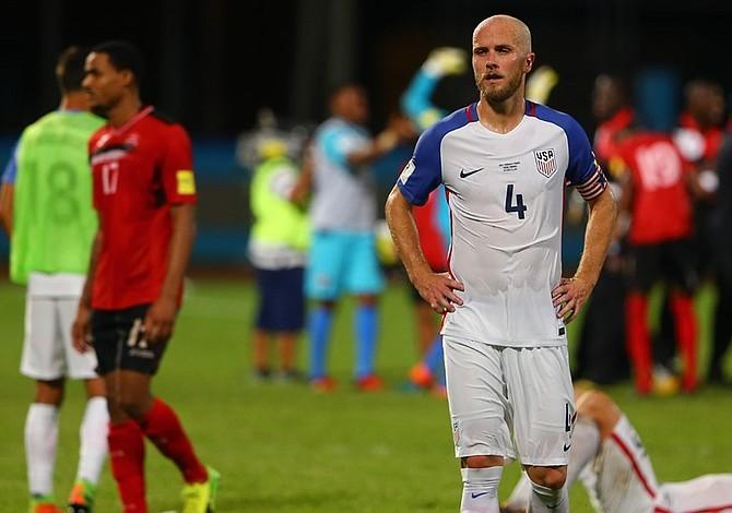 Eliminación del Mundial 2018 refleja retroceso del fútbol estadounidense