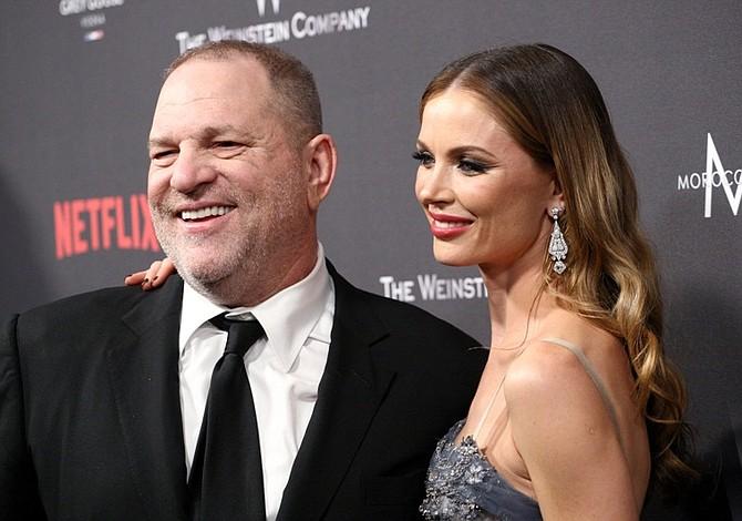 Esposa de Harvey Weinstein anuncia su separación
